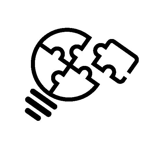 Palapelin pala kiinnittymässä hemo solutions logoon joka kuvastaa kotisivujen ja verkokkaupan suunnittelua Helsingissä.